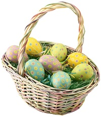 Find a local Easter Egg Hunt here!